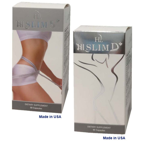 A Set of WEIGHT LOSS product - SLIM S and SLIM D